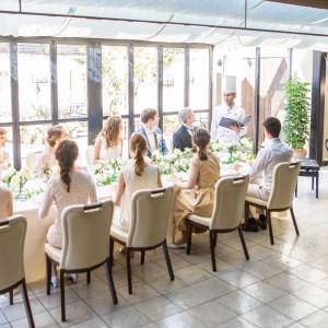 ご家族でのウエディングもご対応可能!美味しいお食事でゲストをもてなして!|ディアズ水戸スパニッシュガーデンの写真(8821169)