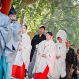 鹿島神宮式での雅楽による生演奏