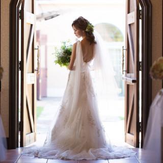 30名以上の結婚式で、憧れのウエディングドレスorカラードレス17万円分プレゼント♪