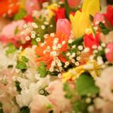 事前に装花打合せを行います。
