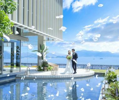「水×緑×空」すべてを兼ね備えた贅沢空間で迎える最幸のひととき