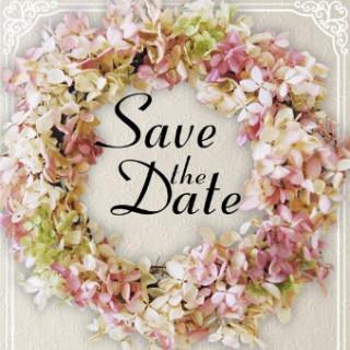 これからがブームの【SAVE THE DATE】をプレゼント♪