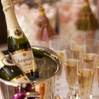 会食プランをご利用で成約されたカップルには乾杯酒プレゼント!