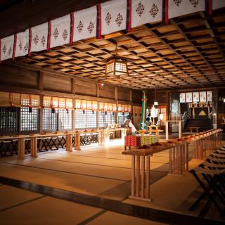 【和婚希望の方へ】会場から徒歩2分!四柱神社見学フェア(平日Ver.)
