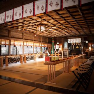 【和婚希望】徒歩2分!市内唯一の縁結びの神◆四柱神社の見学