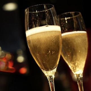 本番でのシャンパン1本プレゼント♪