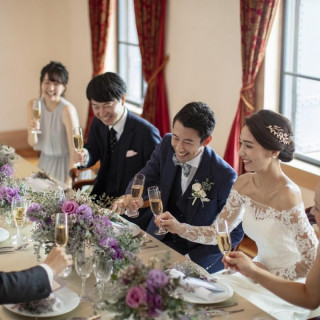 【家族婚&少人数パーティ】無料試食×1日1組貸切×挙式優待