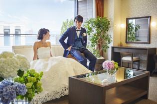 挙式直前の様子|ザ・グランスイート (-small luxury resort- THE GRAN SUITE)の写真(1147060)
