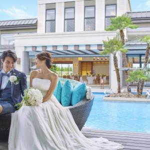 ウォーターガーデンの広がる世界で、特別な時間を過ごす。 ■ザ・グランスィート|ザ・グランスイート (-small luxury resort- THE GRAN SUITE)の写真(1148181)