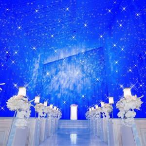 幻想的な星空チャペルで大切なゲストにサプライズ★ アリラガーデンリゾート(ALILAGARDEN RESORT)の写真(1224124)