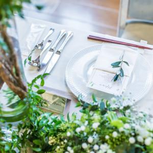 ナチュラルな装飾は幅広い花嫁さまに人気♪|ローズガーデンクライスト教会の写真(2157277)