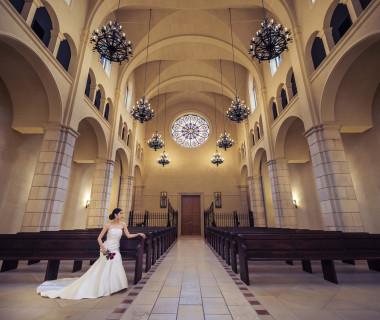 最大150名収容できる県内最大級の大聖堂