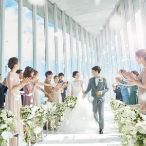 残数3組【新会場リニューアル】光溢れる絶景チャペル体験×豪華6品試食