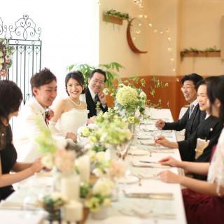 【ご両親・ゲストの喜ぶ顔が見たい方へ】少人数挙式&家族婚相談会