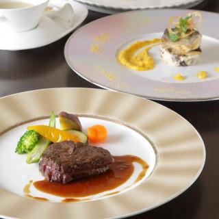 【フレンチ&和食会席ディナーコースを食べ比べ】試食付き相談会