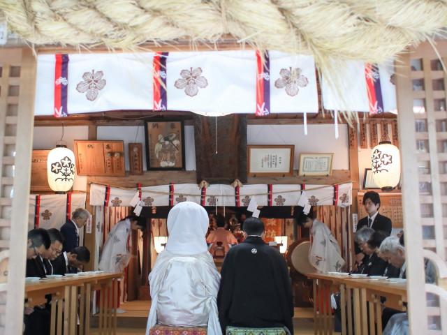 旧軽井沢諏訪神社現地見学