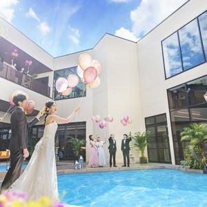 ゲストとバルーンリリース♪|SHOHAKUEN HOTEL 松柏園ホテルの写真(9072795)