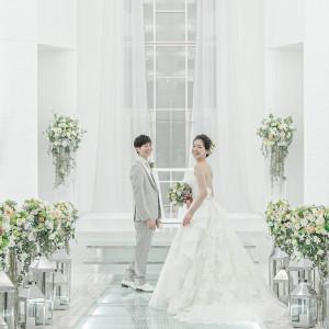 挙式会場『ピュアホワイト・チャペル』|SHOHAKUEN HOTEL 松柏園ホテルの写真(9073017)