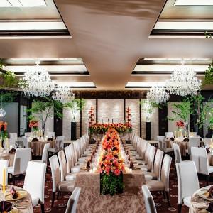 本館1階にある披露宴会場『グラン・フローラ』、大いなる華という意味が込められています|SHOHAKUEN HOTEL 松柏園ホテルの写真(9233409)