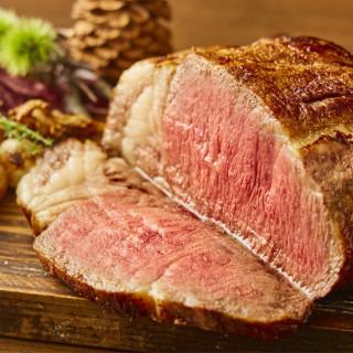 【カドワキ牛とオマールの贅沢試食】料理ランクアップ特典付