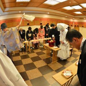 館内神殿での神前式|ホテルクラウンパレス甲府(HMIグループ)の写真(1742524)