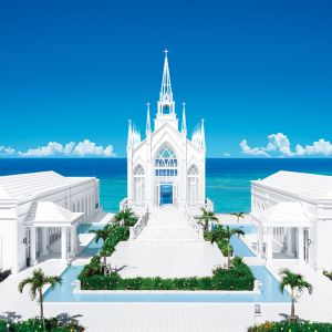 ラソール ガーデン・アリビラ クリスティア教会 チュチュリゾートウエディング