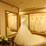 当館専用の衣装サロン「プルマリエ」。専属の衣装スタッフがお二人にぴったりなお衣裳をご提案いたします。