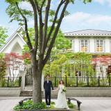 定禅寺通りの白い邸宅。外観をみたことがあるというゲストも多く、迷わず来てもらえるはずです。