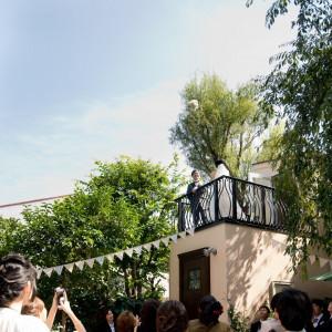 高く舞い上がるブーケ♪|Restaurant ラファエルの写真(1126975)