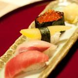 握りたての江戸前寿司