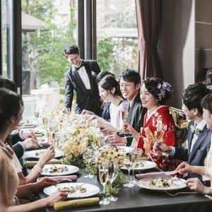 【家族での挙式&会食なら】20名85万円!家族プランフェア