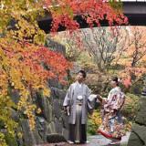 和装での前撮りなら、日本庭園などもご紹介します。衣裳の映える空間で思い出を残そう