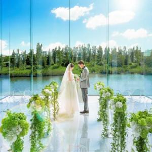 【当館人気NO1】空と緑のリゾート挙式×ミシュラン豪華試食