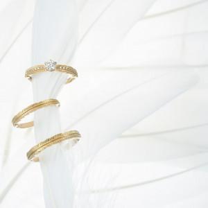 誓いを込めたリングは一生ふたりのそばで輝き続ける。|AMANDAN SKY ~アマンダンスカイ~の写真(2239468)