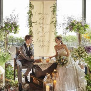 【人気NO.1フェア】婚礼コース試食×新緑の貸切ガーデンパーティ