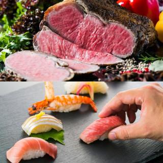 【料理重視必見】A5和牛×三河湾お鮨食べ比べ!贅沢堪能フェア