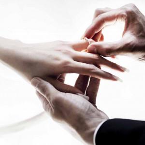 おふたりの大切な誓いの瞬間|マノワール・ディノの写真(917903)