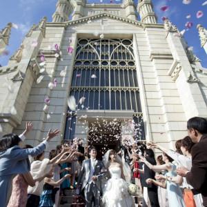県下最大級の大聖堂「アビー・ラ・トゥール教会」での挙式に対応|レストラン一味真・ル・グリルの写真(1376574)
