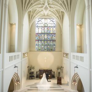 県下最大級の大聖堂「アビー・ラ・トゥール教会」での挙式に対応|レストラン一味真・ル・グリルの写真(1376578)