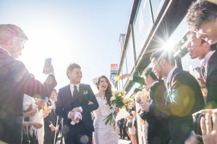 あたたかい祝福に包まれて…|8G Horie RiverTerrace Weddingの写真(1310001)