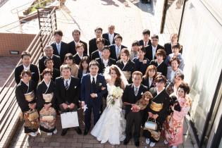 集合写真撮影.*☆|8G Horie RiverTerrace Weddingの写真(1310002)