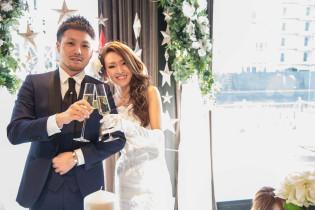 パーティースタート!|8G Horie RiverTerrace Weddingの写真(1310012)