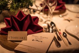 テーブルコーディネート|8G Horie RiverTerrace Weddingの写真(1309981)