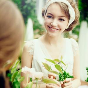ウェディングで大切なのは 「流行」でも「安さ」でもなく 「今のお二人にぴったりのウェディング」 最高の笑顔で素敵な一日を♡|8G Horie RiverTerrace Weddingの写真(904781)