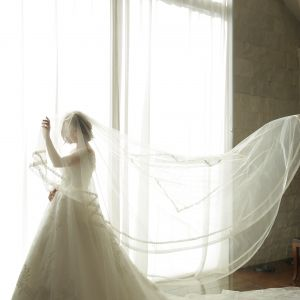 花嫁様が身に着けるアイテムには 一つ一つに意味がある チャペルクレール 奈良店の写真(4081333)