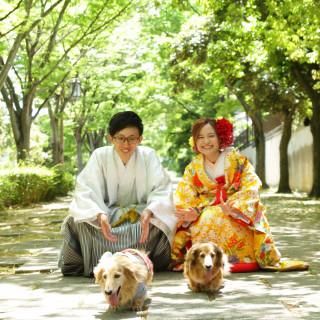 【ペット参列OKフェア】☆わんこと一緒に結婚式