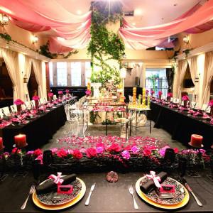 テーブルクロスを変えるだけでシックな空間も演出できますお好みに合わせて雰囲気作りをさせていだきます|FINCH OF AMAZING DINERの写真(306677)