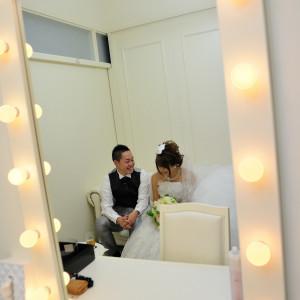式が始まる前からお二人の思い出のひと時をお写真に収めていくことも可能です|FINCH OF AMAZING DINERの写真(2227428)