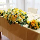 会場装花で、会場を華やかに彩りできます。