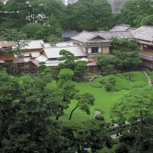 日本庭園を貸し切る贅沢